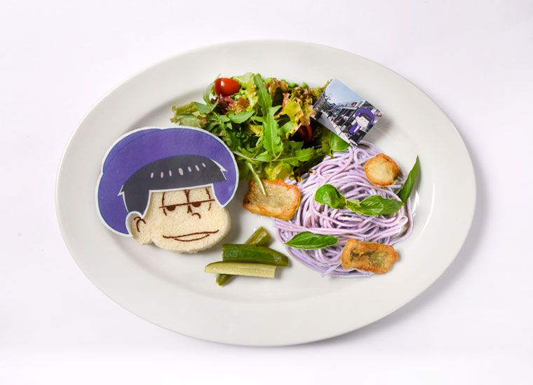Mr. Osomatsu Collaboration Cafe | Food Menu