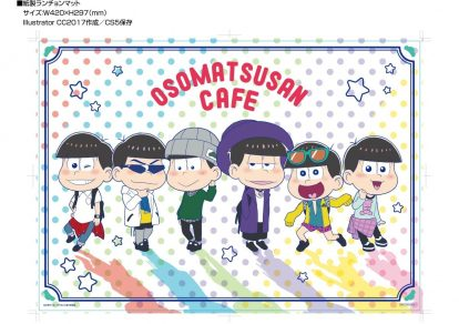 Mr. Osomatsu Collaboration Cafe