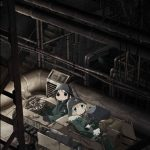 Fall 2017 anime Girls' Last Tour (Shoujo Shuumatsu Ryokou) Key Visual