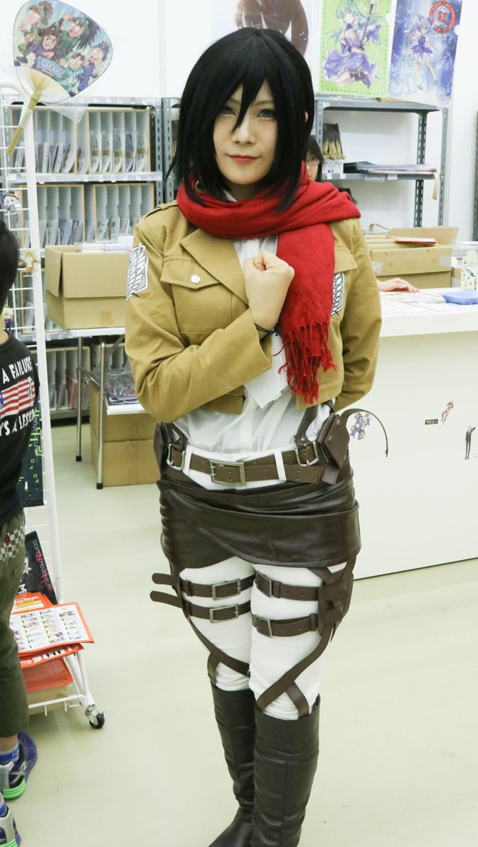 Mikasa | Attack on Titan | Anime | Cosplay | Kyomaf |