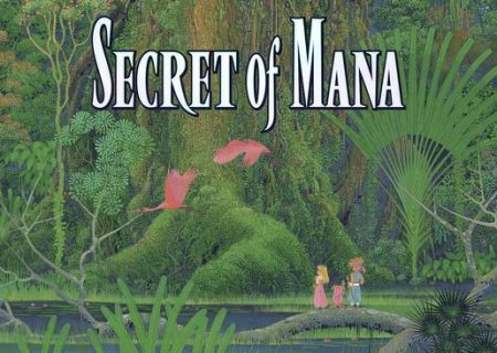 Secret of Mana Game Logo