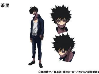 My Hero Academia Introduces Cast for Villains Dabi and Himiko Toga