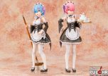 1:7 scale Rem and Ram figures made by Figurex