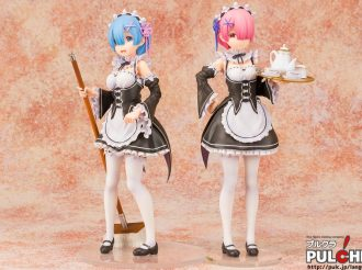 Re:Zero's Rem and Ram Figures Can Keep Your Shelf Tidy