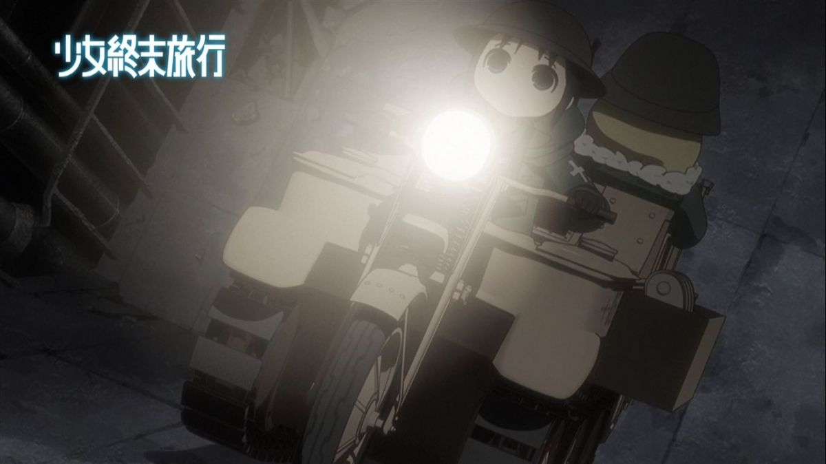 Girls' Last Tour | Official Screenshot from Anime Trailer