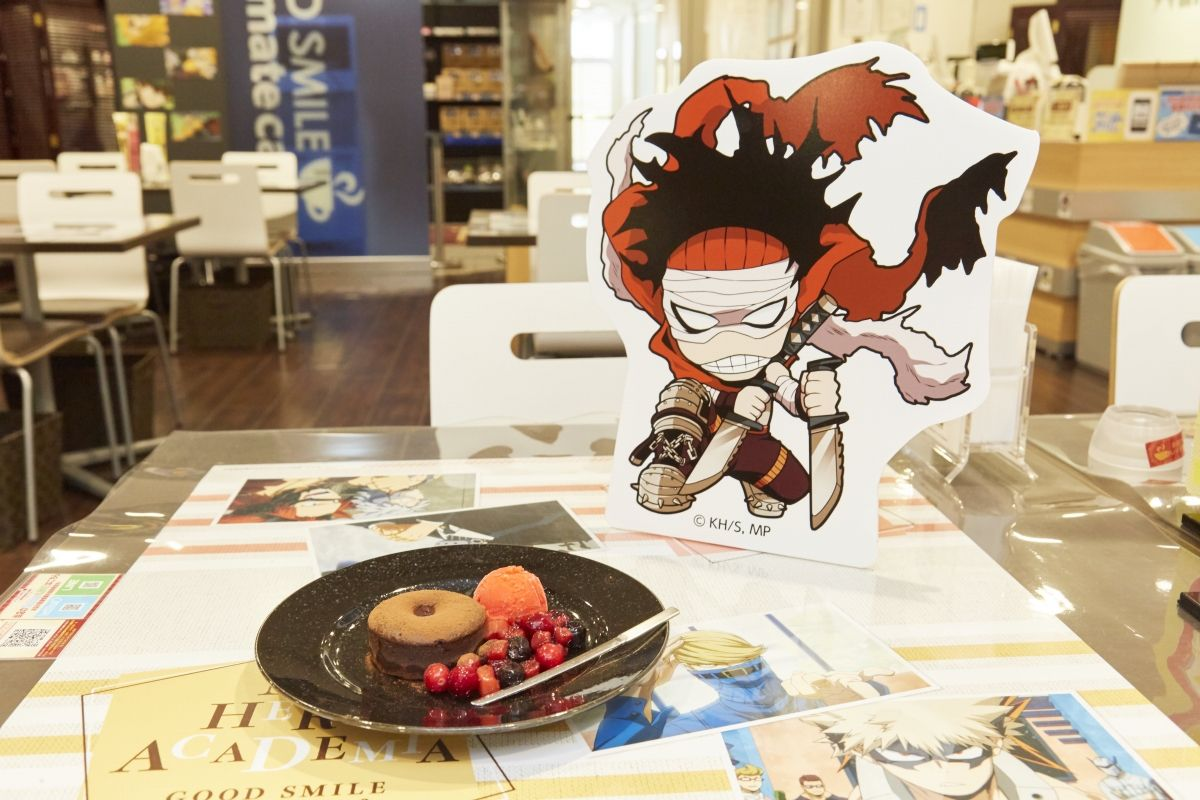 Stain's Sweets Plate | My Hero Academia Cafe at GOOD SMILE x animate Cafe