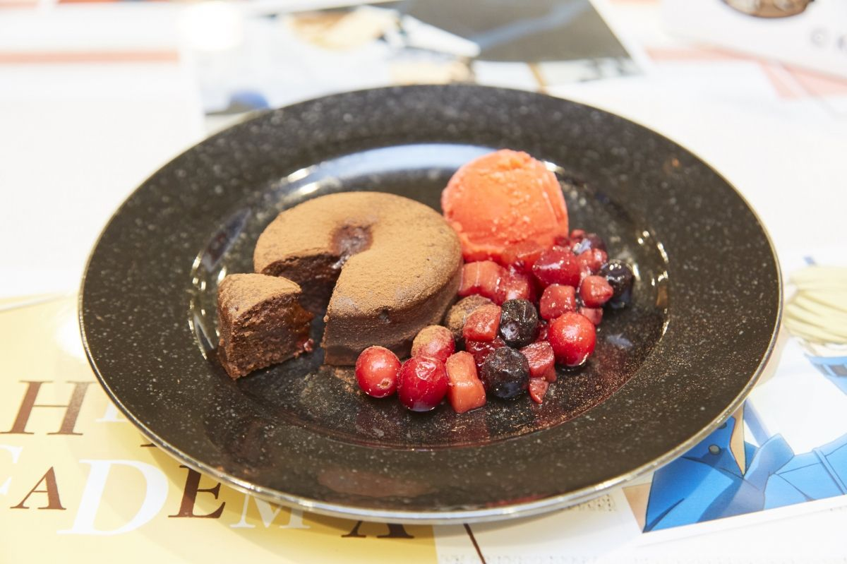 Stain's Sweets Plate   My Hero Academia Cafe at GOOD SMILE x animate Cafe