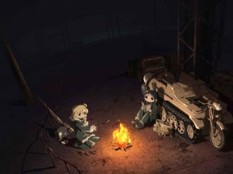 Girls' Last Tour Reveals Background Art, New Visual, and Character Visuals