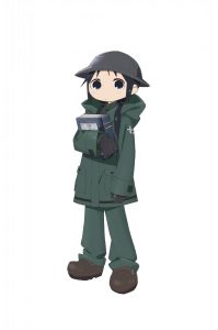 Chito from Anime Girls' Last Tour