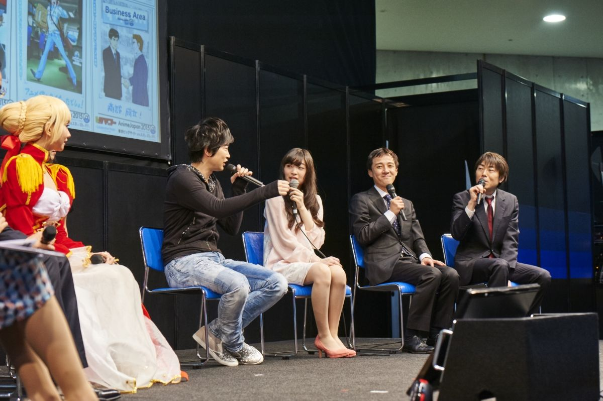 Photo from an Anime Japan Stage