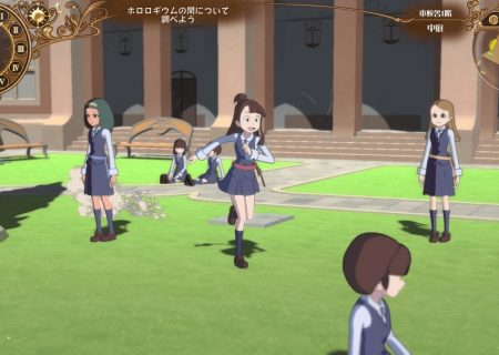 Screenshot from game Little Witch Academia: Chamber of Time