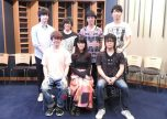 The cast of anime Sengoku Night Blood