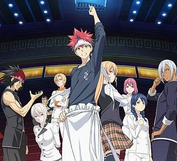 Food Wars: The Second Plate Anime Visual