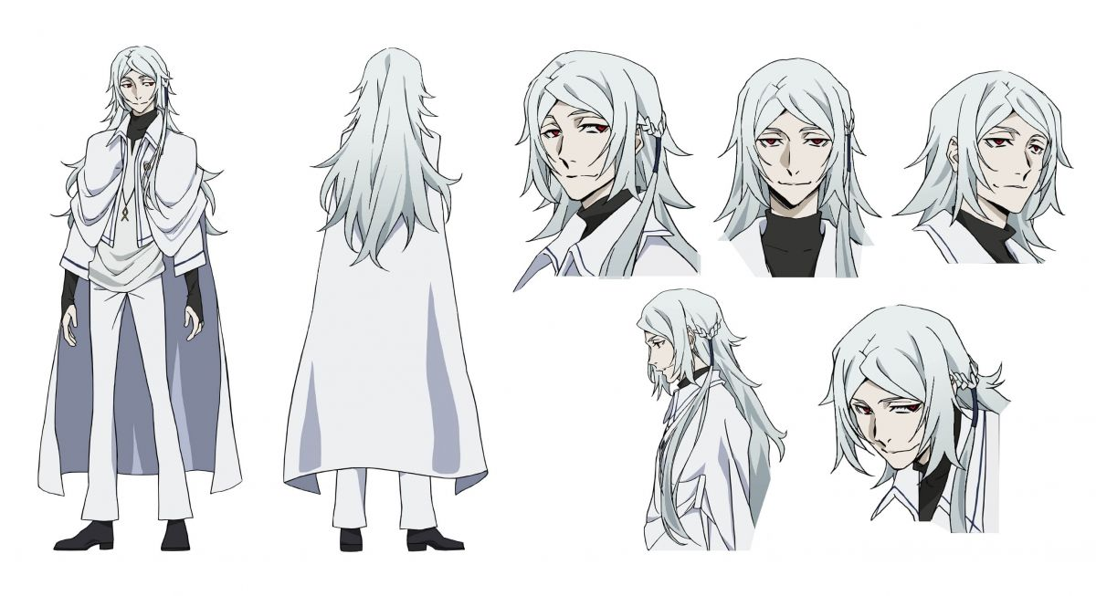 Bungo Stray Dogs Dead Apple: Tatsuhiko Shibusawa Character Design