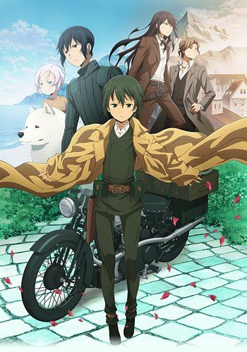 Kino's Journey The Beautiful World Anime Visual