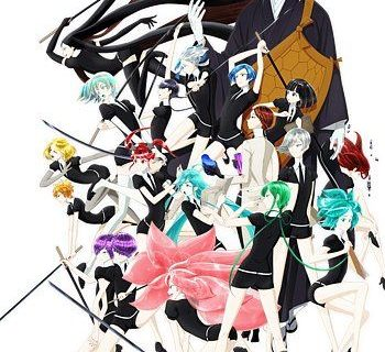 Land of the Lustrous Anime Visual