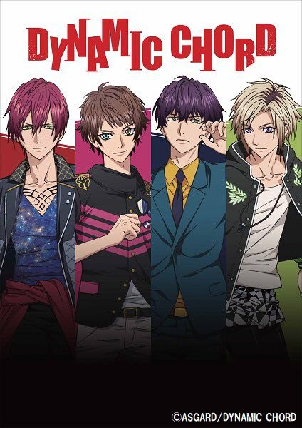 Dynamic Chord Anime Visual