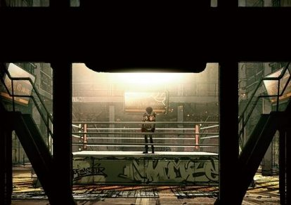 TV Anime Megalo Box Teaser Visual