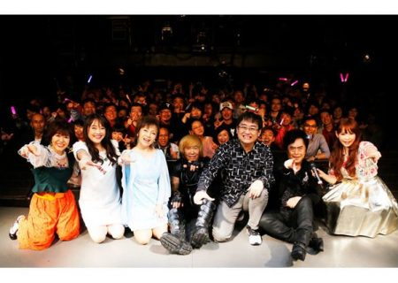 Photo from the AFFT 2017 100 years of Anime Anniversary Talk & Live ~Tsubasa wo motsu monotachi~