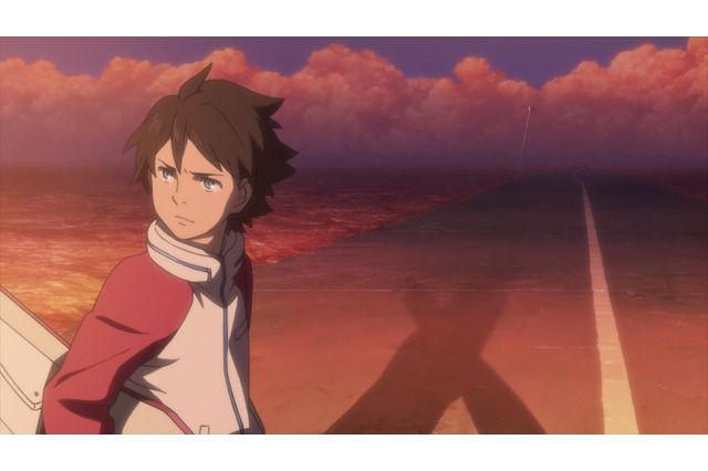 Renton from anime movie Psalm of Planets Eureka Seven: Hi-Evolution 1
