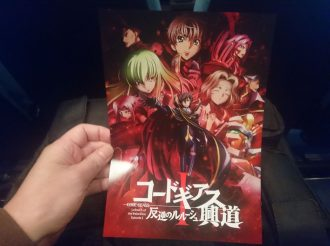 We Went to the Code Geass Lelouch of the Rebellion Recap Movie