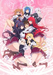 High School DxD Season 4 Anime Poster