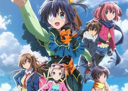 anime movie Love, Chunibyo and Other Delusions -Take on Me- Poster Visual