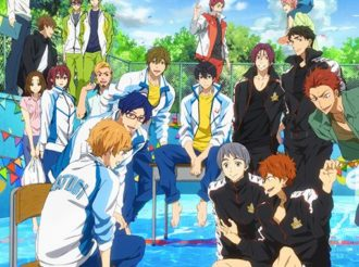 Swimming Anime Free! to Get New Anime in Summer 2018