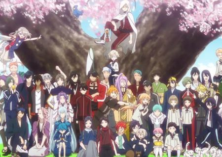 Shot from the Touken Ranbu Hanamaru Anime Recap Movie