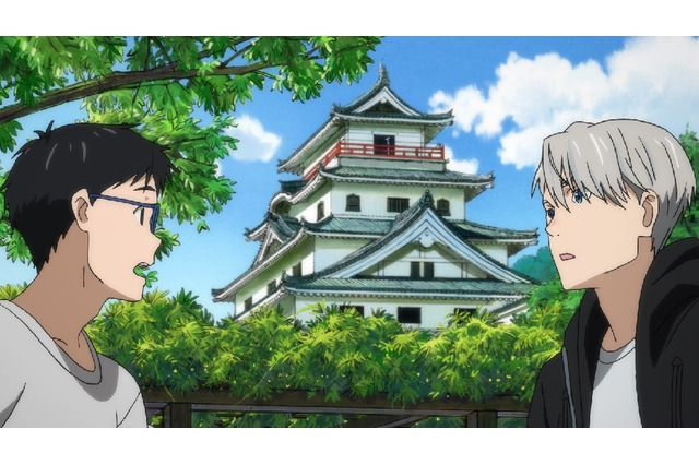 TV anime Yuri!!! on ICE official pilgrimage tour