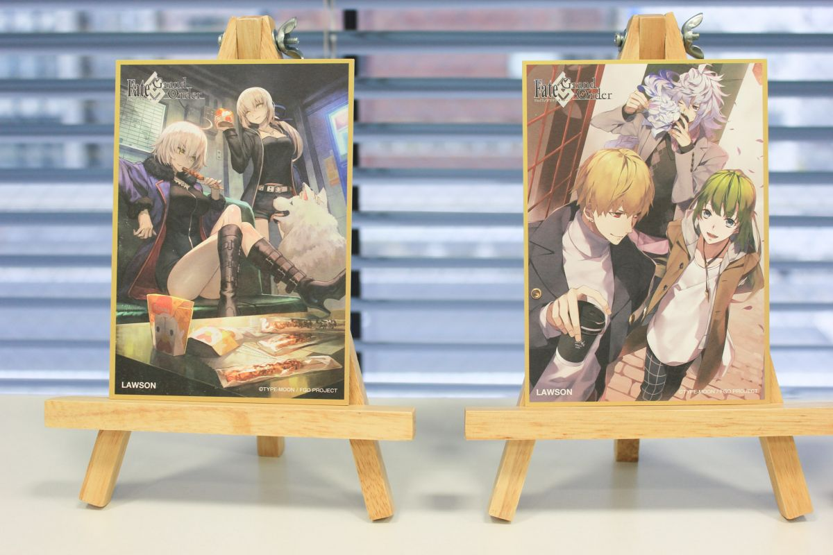 Lawson anime collaboration with Fate/Grand Order.