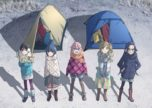 Yurucamp Anime Visual