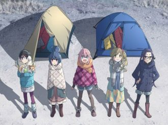 New Character Visual for TV Anime Yurucamp