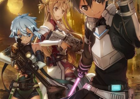 Sword Art Online Fatal Bullet Game Visual
