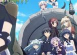 Winter 2018 anime Death March to the Parallel World Rhapsody | Poster Visual