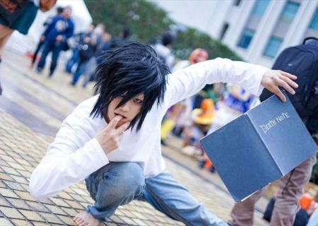 Hachiko @hachico_cos L DEATH NOTE Ike Haro 2017: Compilation of Handsome Male Cosplays