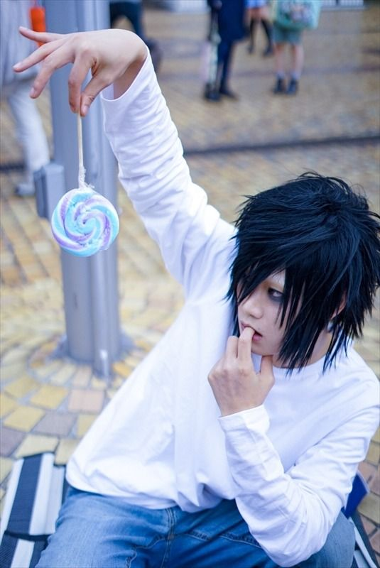 Hachiko @hachico_cos L DEATH NOTE | Ike Haro 2017: Compilation of Handsome Male Cosplays