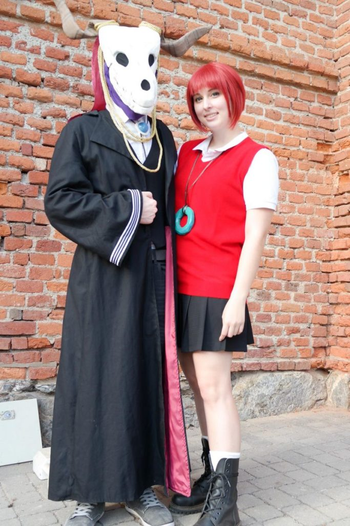 Chise and Elias from The Ancient Magus' Bride. | Cosplayers in Austria! AkiCon 2017 Cosplay Photo Report