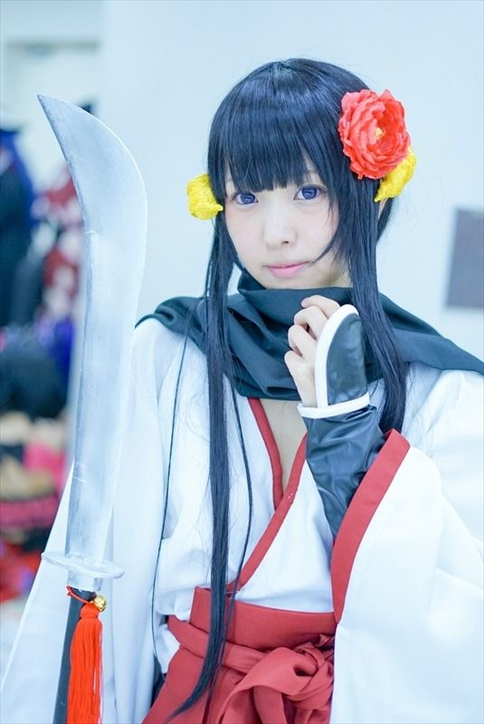 Ike Haro 2017: Compilation of Beautiful Female Cosplay | Gomamama as Ririchiyo Shirakiin from Inu x Boku SS