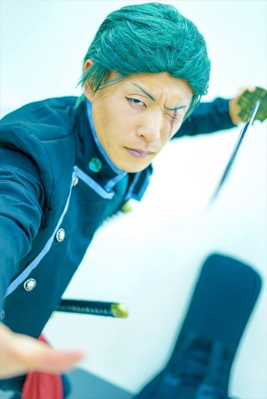 Ike Haro 2017: Compilation of Beautiful Male Cosplay | Kouichi as Zorro from One Piece