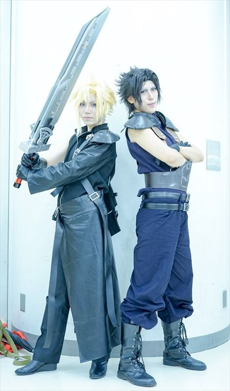 Ike Haro 2017: Compilation of Beautiful Male Cosplay | Mayo and Yuki as Cloud and Zack from Final Fantasy 7