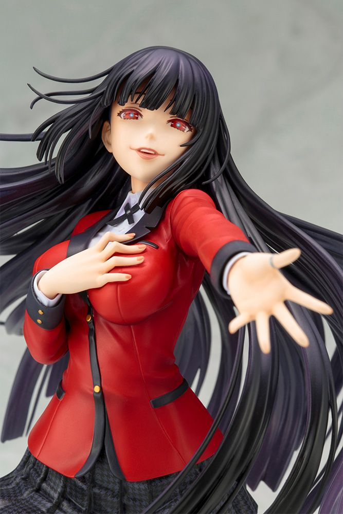 1/8 scale pre-painted PVC figure of Yumeko Jabami from anime Kakegurui