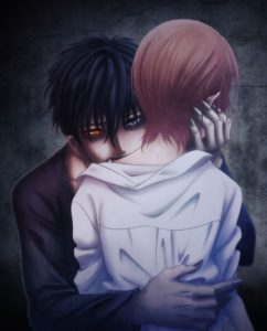 Ryo Hanada's vampire manga Devil's Line | Anime Adaptation Key Visual