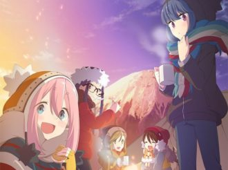 Enjoy the View Of Mt. Fuji in Yurucamp Key Visual, Theme Songs Revealed