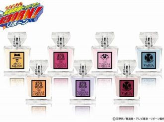 Katekyo Hitman REBORN! Fragrance! 7 Scents Soon Available