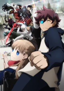 Blood Blockade Battlefront Beyond Anime Visual