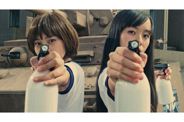 Official Screenshot from the Girls und Panzer Live Action Music Video