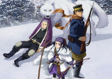 Anime Golden Kamuy First Key Visual
