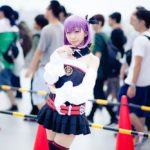 Hinokio as Helena Blavatsky from Fate/Grand Order, Photo by Diora | Cosplays With Knee-high Socks