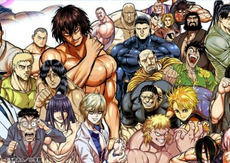 Kengan Ashura Anime Visual